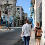 faculty and student in Havana